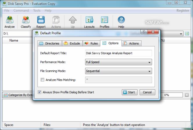 DiskSavvy Pro Screenshot 4