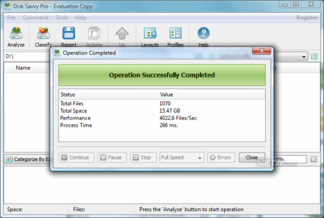 DiskSavvy Pro Screenshot 5