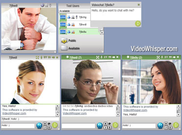 Video Messenger Live Instant Cam Script Screenshot 1