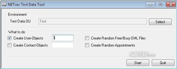 Test Data Tool Screenshot 2
