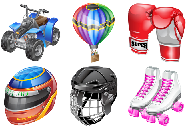 Real vista sports Stock Icons Screenshot