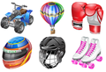 Real vista sports Stock Icons 1