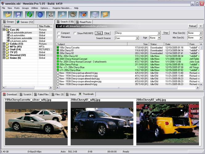 Newsbin Pro Screenshot 1