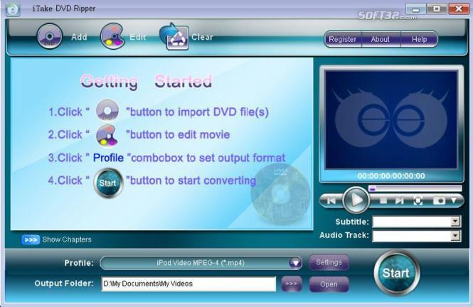 iTake DVD Ripper Screenshot 3