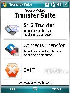 Windows Mobile Transfer Suite Screenshot 3