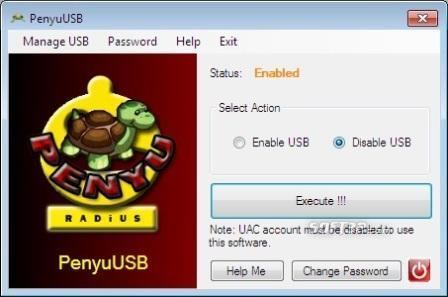 PenyuUSB Screenshot 1
