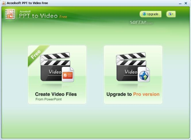 Acoolsoft PPT to Video Free Screenshot 3