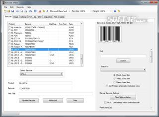 Barcode Image Maker Pro Screenshot 3
