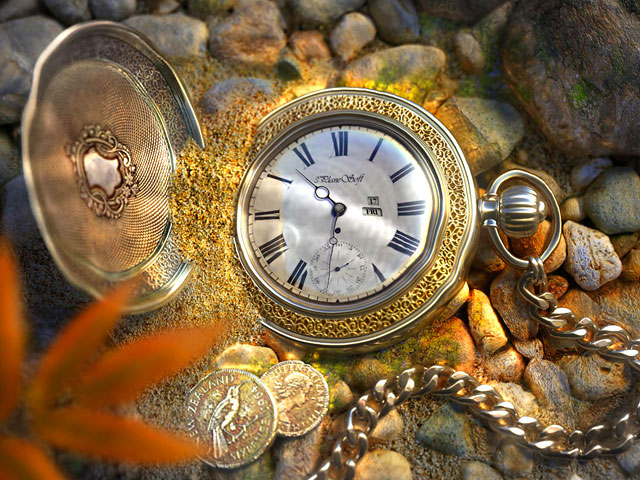 The Lost Watch 3D Screensaver Screenshot