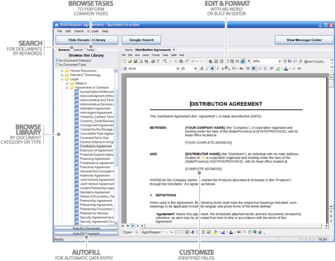 Business-in-a-Box (Mac Version) Screenshot