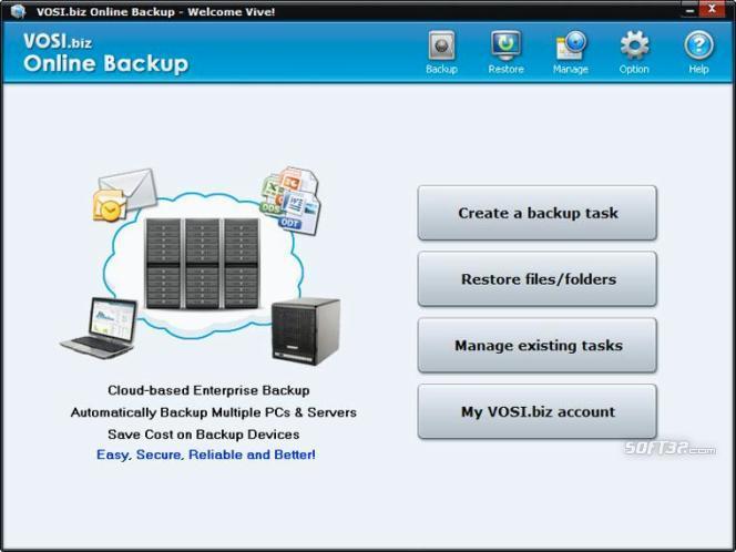 VOSI.biz Online Backup (x64) Screenshot 2