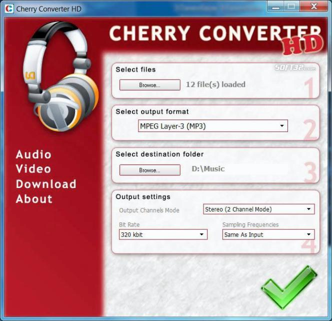 Cherry Converter HD Screenshot