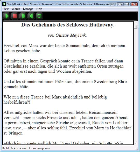 StudyBook German Screenshot 2