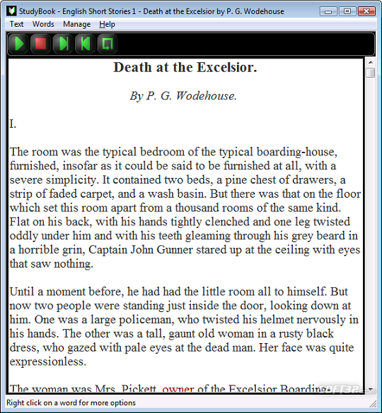 StudyBook English Screenshot 2
