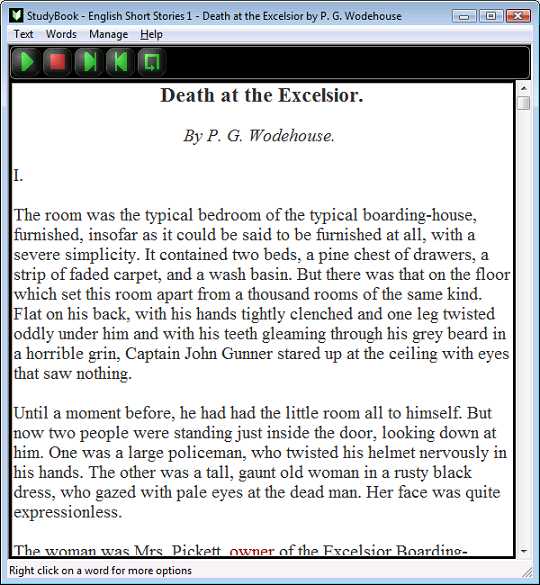 StudyBook English Screenshot
