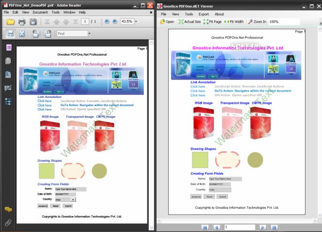 PDFOne .NET ProPlus Screenshot 2