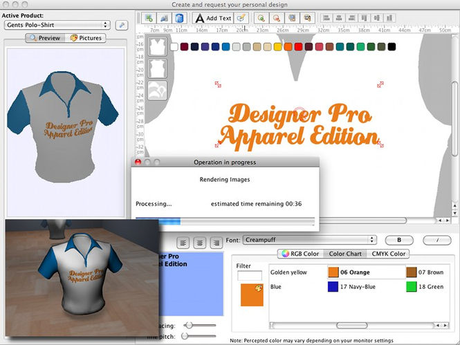 Designer Pro Mac Screenshot