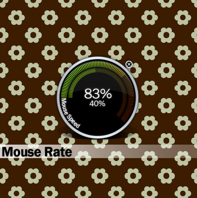Mouse Rate Screenshot