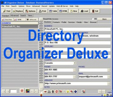 Directory Organizer Deluxe Screenshot 1