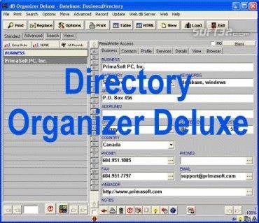 Directory Organizer Deluxe Screenshot 2
