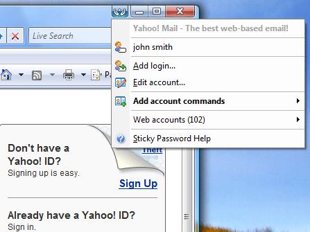 Automatic Password Screenshot 1