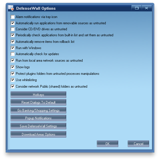 DefenseWall Personal Firewall Screenshot 4