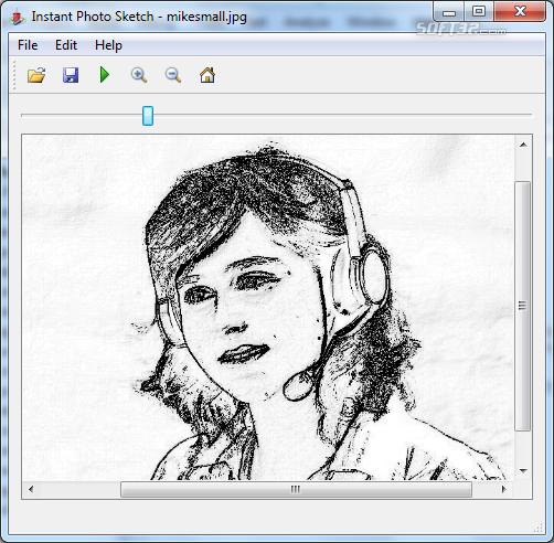 InstantPhotoSketch Screenshot 2