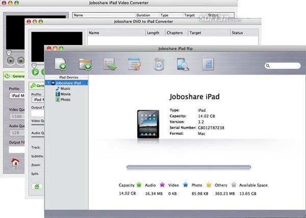Joboshare iPad Mate for Mac Screenshot 3