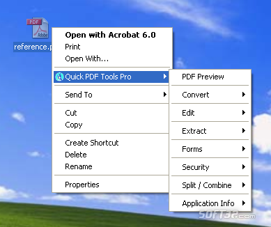 Quick PDF Tools Pro Screenshot 3