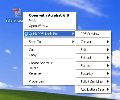 Quick PDF Tools Pro Screenshot 1