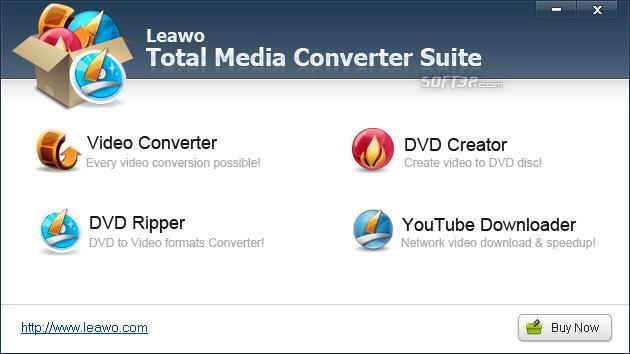 Leawo Total Media Converter Suite Screenshot 3