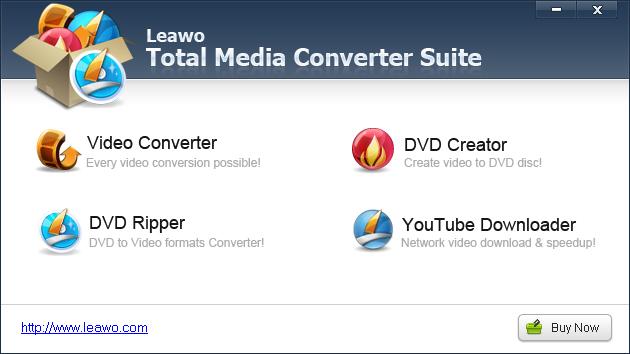 Leawo Total Media Converter Suite Screenshot 2