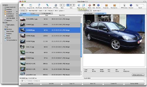 Disk Order Screenshot 3