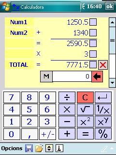 UtilCalc Screenshot