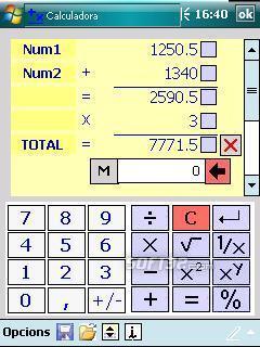 UtilCalc Screenshot 2