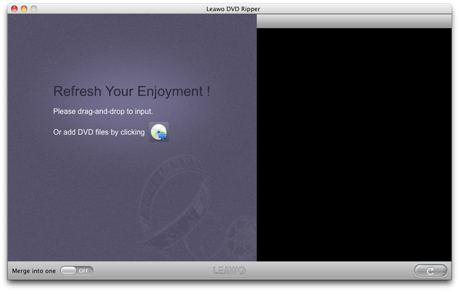 Leawo Mac DVD Ripper Screenshot 1