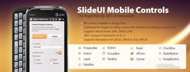 SlideUI Mobile Controls Screenshot 1