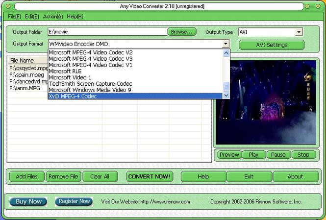 Any Video Converter Screenshot 2