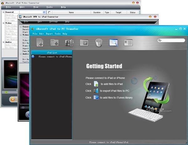 iMacsoft iPad Mate Screenshot 3