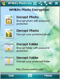 WMkits Photo Encryption Screenshot