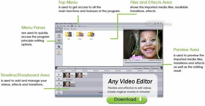 Any Video Editor Pro Screenshot 3