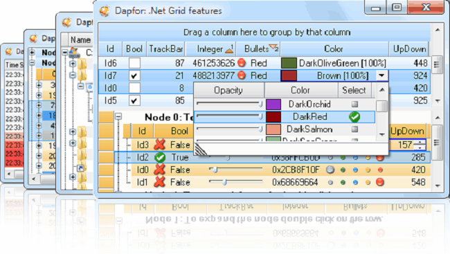 .Net Grid Screenshot 3