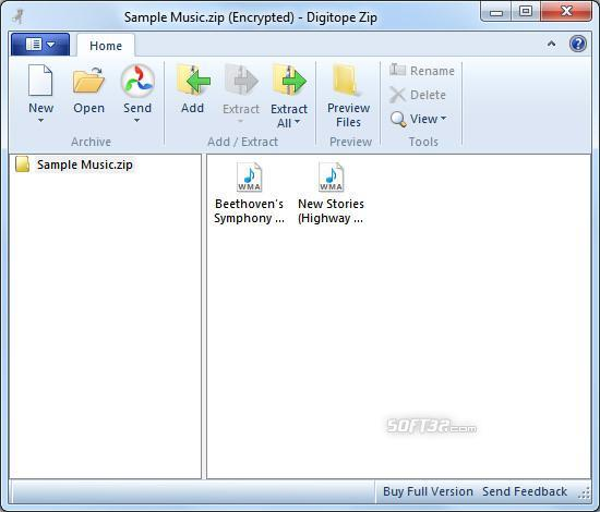 Zip Screenshot