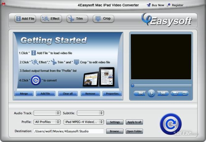 4Easysoft Mac iPad Video Converter Screenshot 3