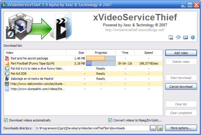 xVideoServiceThief Screenshot 1