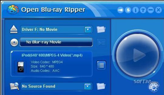 Open Blu-ray ripper Screenshot 3