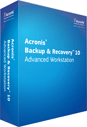 Acronis Backup and Recovery 10 Advanced Workstation Screenshot 2