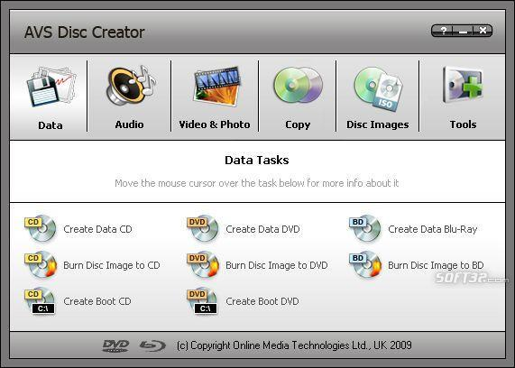 AVS Disc Creator Screenshot 3