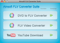Ainsoft FLV Converter Suite for Mac 1
