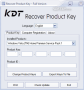 KDT Recover Product Key 2